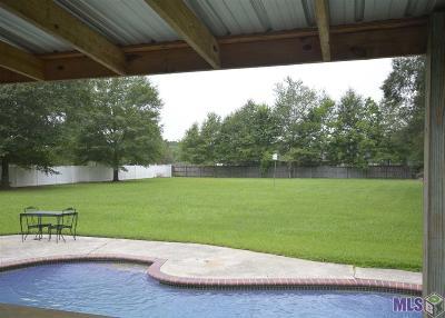 Denham Springs Single Family Home For Sale: 30803 Dunn Rd