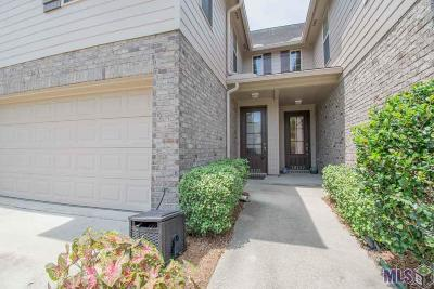 Prairieville Condo/Townhouse For Sale: 18125 Pinehurst Dr