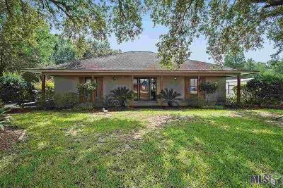 Gonzales Single Family Home For Sale: 9350 La Hwy 941