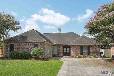 Baton Rouge Single Family Home For Sale: 10766 Oakley Trace