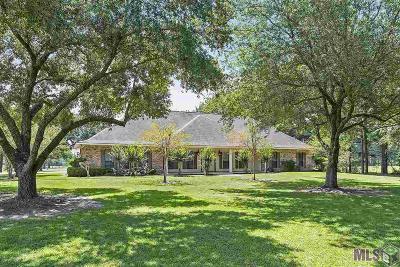 Zachary Single Family Home For Sale: 17880 Barnett Rd