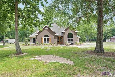 Denham Springs Single Family Home For Sale: 22604 Loving Dr