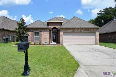 Gonzales Single Family Home For Sale: 14076 Garden Cove Ct
