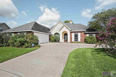 Prairieville Single Family Home For Sale: 18529 Manchac Lake Dr