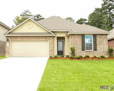 Denham Springs Single Family Home For Sale: 8182 Fairlane Dr
