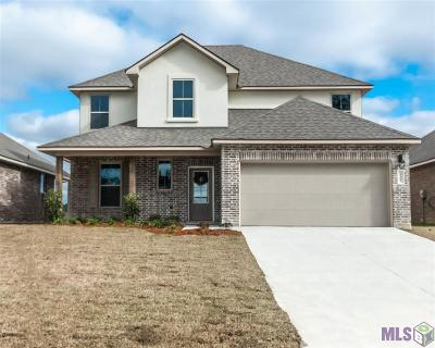 Denham Springs Single Family Home For Sale: 8181 Fairlane Dr