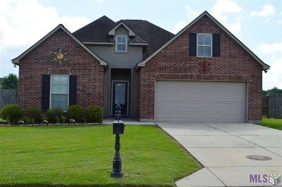 Gonzales Single Family Home For Sale: 14430 Caribbean Dr