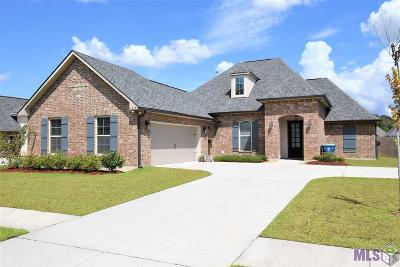 Prairieville Single Family Home For Sale: 18170 Old Trail Dr