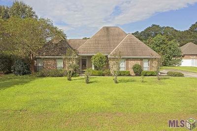 Denham Springs Single Family Home For Sale: 30361 Red Cardinal