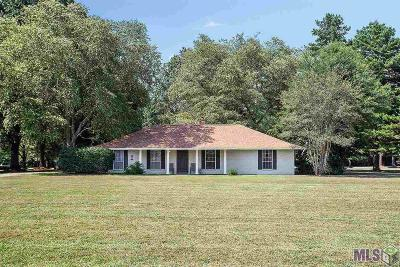 Zachary Single Family Home For Sale: 3437 Vernon Rd