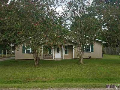 Denham Springs Single Family Home For Sale: 26434 Shadow Brook Ave