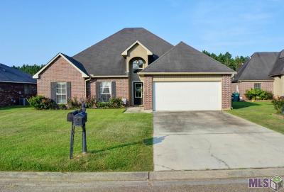 Denham Springs Single Family Home For Sale: 26084 Big Ben Dr