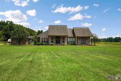Denham Springs Single Family Home For Sale: 39364 Hess Rd