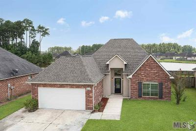Denham Springs Single Family Home For Sale: 26376 Poplar Glen Dr