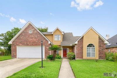 Denham Springs Single Family Home For Sale: 7943 Tara Dr