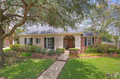 Baton Rouge Single Family Home For Sale: 5513 S Woodchase Ct