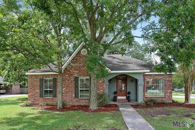 Zachary Single Family Home For Sale: 4012 Hemlock St