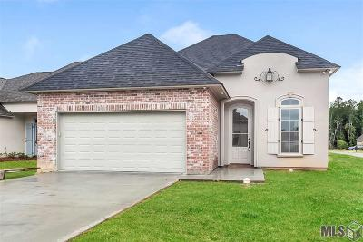 Denham Springs Single Family Home For Sale: 10352 Belle Isle Dr