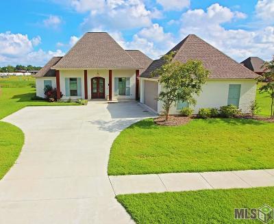 Denham Springs Single Family Home For Sale: 7243 Bessie Dr