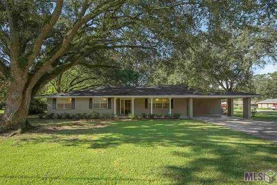 Zachary Single Family Home For Sale: 3812 Main St