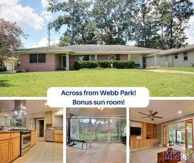 Baton Rouge Single Family Home For Sale: 1256 Country Club Dr
