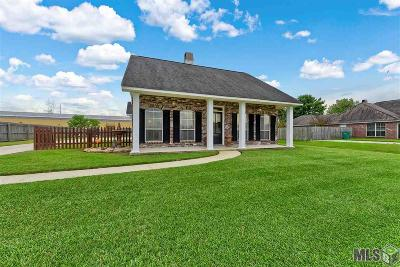 Denham Springs Single Family Home For Sale: 24602 Rolling Meadow