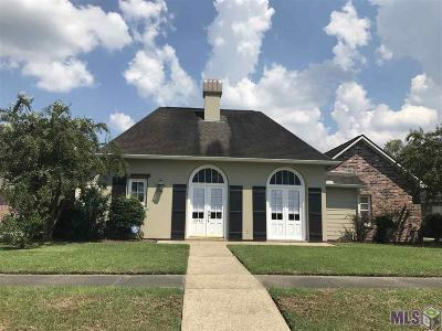 Zachary Single Family Home For Sale: 3990 Lake Ct