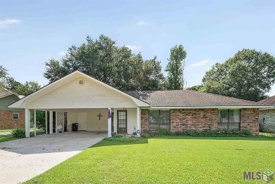 Zachary Single Family Home For Sale: 3314 Cedar St