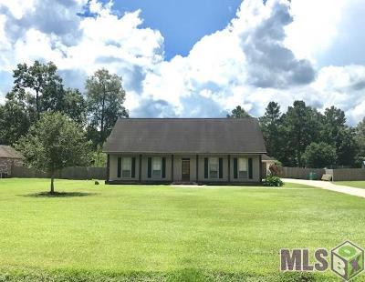 Denham Springs Single Family Home For Sale: 13196 Montrose North