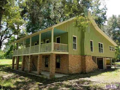 Prairieville Single Family Home For Sale: 18561 Broussard Rd