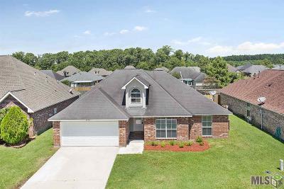 Denham Springs Single Family Home For Sale: 26433 Maplewood Dr