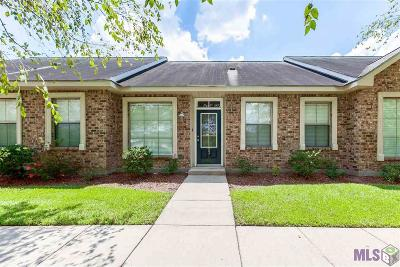Baton Rouge Condo/Townhouse For Sale: 12500 Old Hammond Hwy #T3