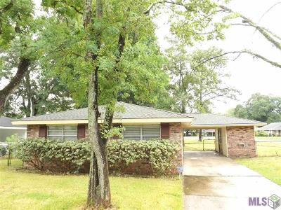 Baton Rouge LA Single Family Home For Sale: $109,900