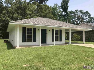 Denham Springs Single Family Home For Sale: 25577 Rosedown Dr