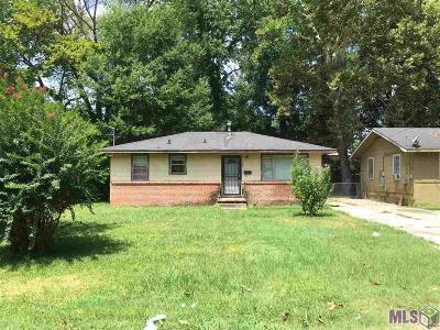 Baton Rouge LA Single Family Home For Sale: $15,000