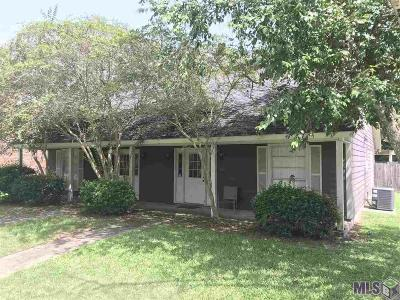 Baton Rouge Condo/Townhouse For Sale: 1452 Sharlo Ave