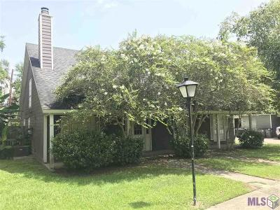 Baton Rouge Condo/Townhouse For Sale: 1454 Sharlo Ave
