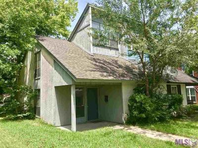 Baton Rouge Condo/Townhouse For Sale: 4954 Alvin Dark Ave