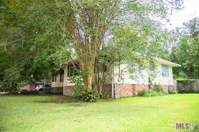 Denham Springs Single Family Home For Sale: 112 Pinoak St