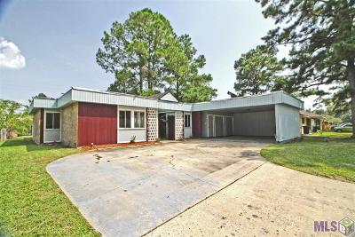 Baton Rouge Single Family Home For Sale: 954 Arcadia Dr