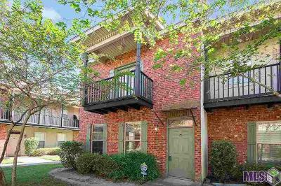 Baton Rouge Condo/Townhouse For Sale: 10600 Lakes Blvd #1008