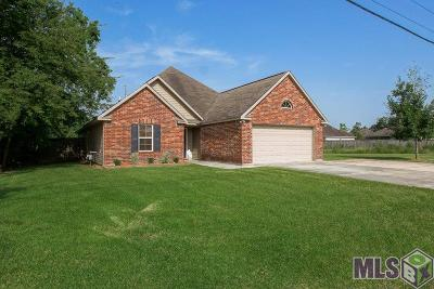 Prairieville Single Family Home For Sale: 17051 La Hwy 929