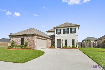 Prairieville Single Family Home For Sale: 18642 Lake Harbor Ln