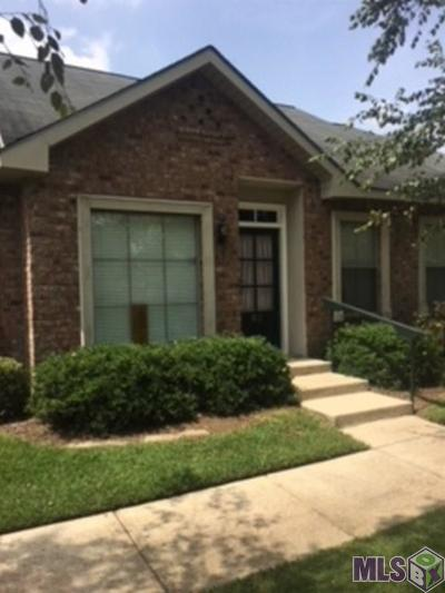 Baton Rouge Condo/Townhouse For Sale: 12500 Old Hammond Hwy #R2