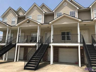 Baton Rouge Condo/Townhouse For Sale: 1500 Brightside Dr #G-2
