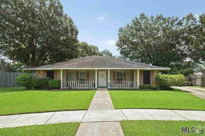 Baton Rouge Single Family Home For Sale: 15652 Banyanwood Ave