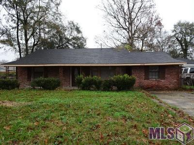 Baton Rouge Single Family Home For Sale: 3346 Eleanor Dr