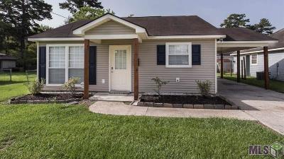Gonzales Single Family Home For Sale: 307 E Josephine St