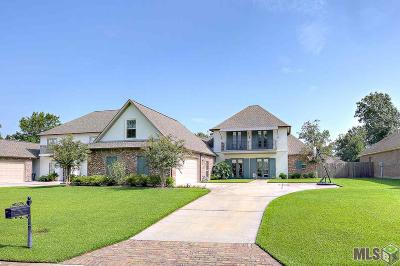 Prairieville, Baton Rouge, Geismar, Gonzales Single Family Home For Sale: 15933 Woodland Trail Ave