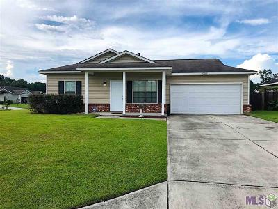 Denham Springs Single Family Home For Sale: 13009 Calcasieu Ave